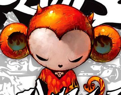 Devil Monkey 'DMK' (Version-01)  by DOLDOLdesign