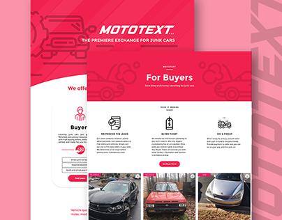 Full Brand Development | Mototext Cars