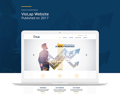 VioLap Website (Pharmaceutical and Marketing )