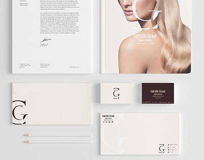 Branding Project - Web Design - Layout Design _ G.G.