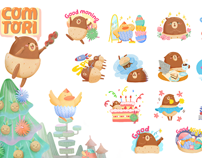 COMTORI-Character Design