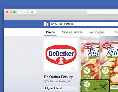 Gestão de Facebook Dr. Oetker