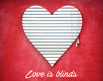 Love is blinds - DECO-B Valentine's Day ad