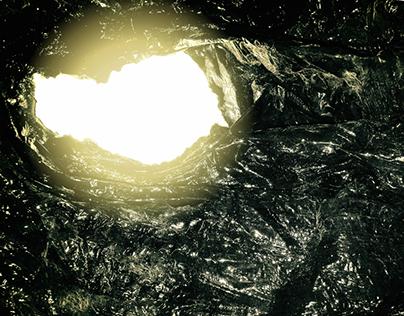 argent noir EP Cover Design - An Unsound Structure