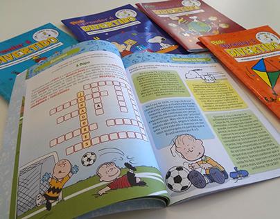 Snoopy puzzle magazines