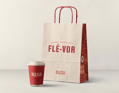 Flé-Flé Grill Brand Identity