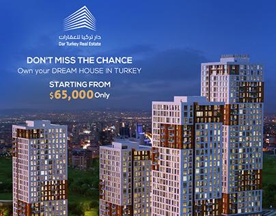 Dar Turkey Real Estate Lead Generation Campaign