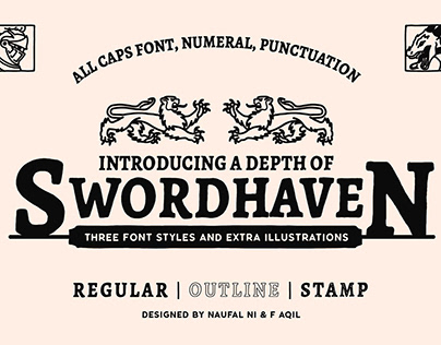 SWORDHAVEN - Font