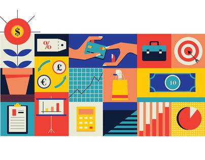 Various Industries Illustration