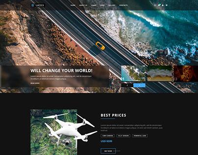 Quadex | Drones Store Html Template