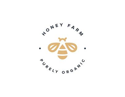 honey farm - visual identity