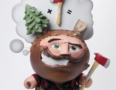 "Custom Lumberjack 8"" Dunny"
