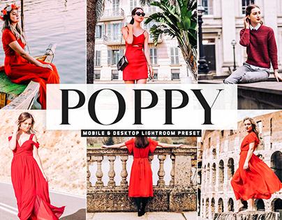 Free Poppy Mobile & Desktop Lightroom Preset