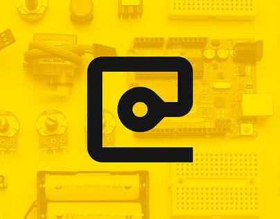 ELMICRO COMPUTER — visual identity