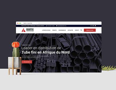 Axiatech - Identity & Website