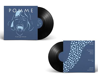 Création d'une pochette vinyle