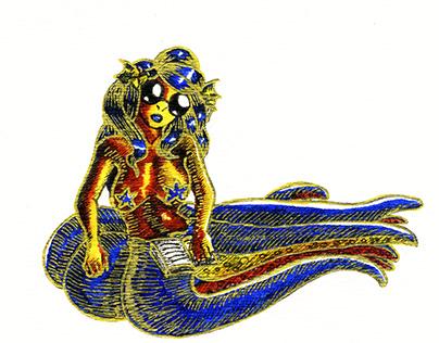 Pansy Mermaid