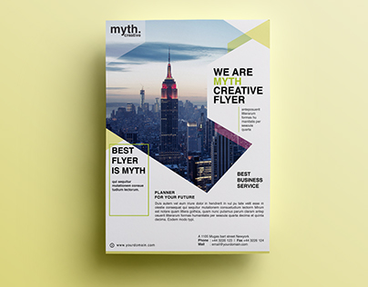 double sided flyer corporate