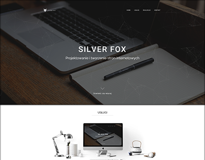 New version of the silver-fox page