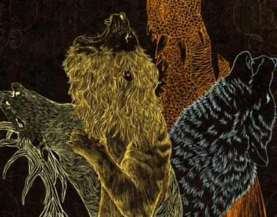 Game Of Thrones Editorial Illustration