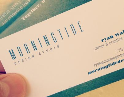 Morningtide Design Studio Business Cards