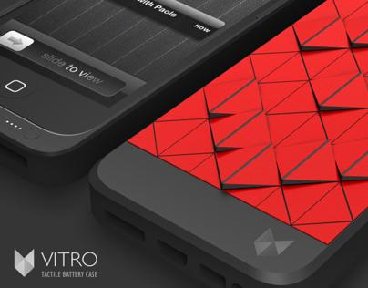 Vitro - smart battery case