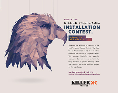 Killer campaign for Kala Ghoda Festival