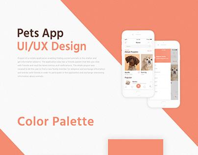 Pets App UI/UX Design