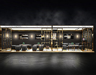 Trade Show / Exhibition Stand design and render