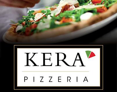 """Communication visuelle """"Kera-Pizzeria"""" à Concarneau"""