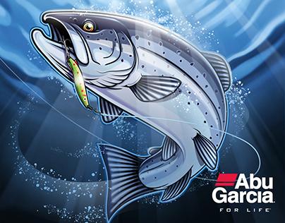 Sport Fishing Illustrations