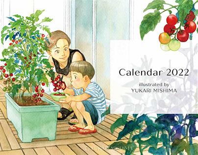 The Illustrations for Calendar 2022