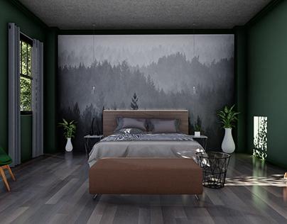 JADE GREEN ROOM DESIGN