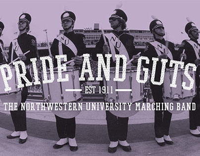 Northwestern Pride and Guts Exhibit