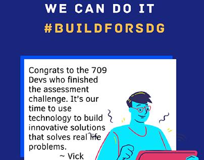 #BuildForSDG
