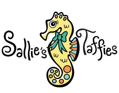 Sallies Taffies Branding