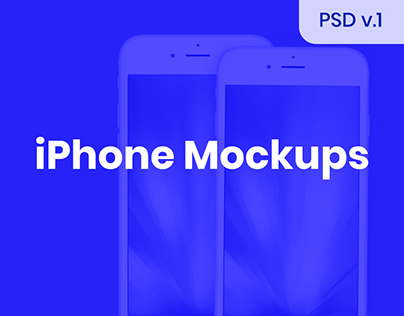iPhone Mockups [PSD]