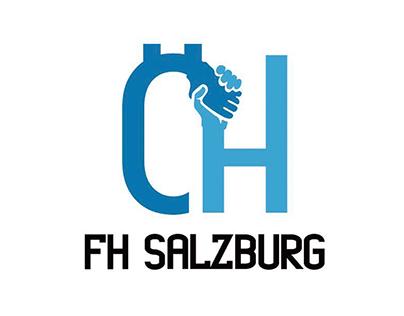 ÖH FH Salzburg Logo - BRANDING