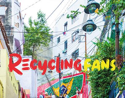 Recycling Fans | Rexona - Board