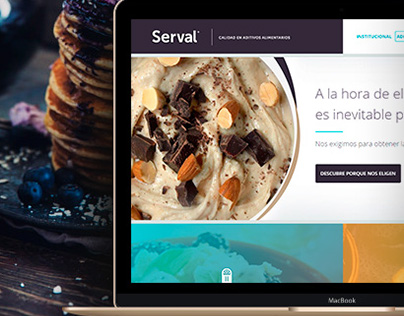 Serval. Web Design