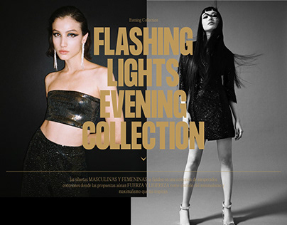 Flashing Lights - Evening Collection