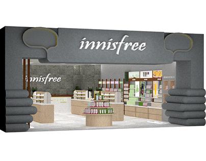 Zen Innisfree Retail Design