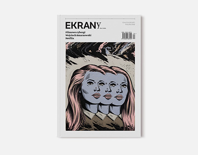 Redesign layout of Magazine EKRANy