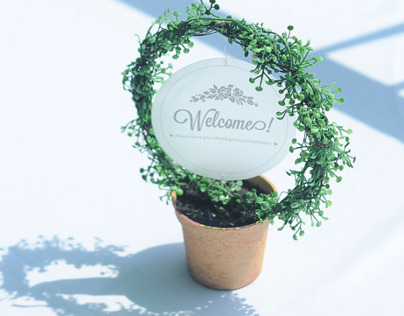 nature wedding concept