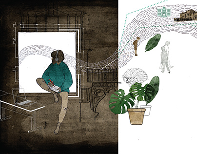 "illustrations for ""Indigo"" magazine"