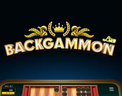 Backgammon Live game - Trailer - Direction/realization