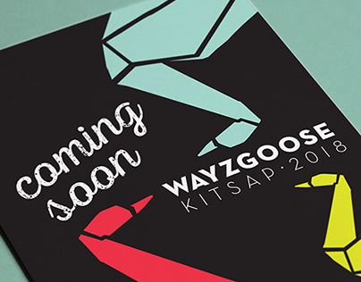 Wayzgoose Kitsap Marketing Materials