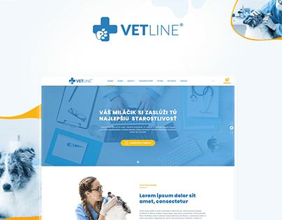 Vetline - Webdesign