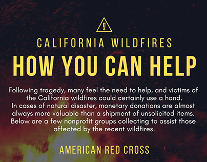 Aid for California Wildfires | Peter Palivos
