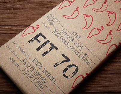 FIT 70 Chocolate Bars
